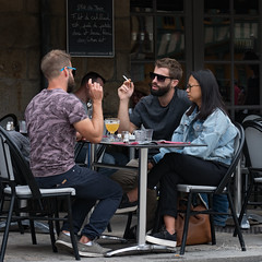 365-2018-250 - Lunch for three, French style (adriandwalmsley) Tags: auray