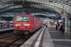 DB 143 193 Berlin Hauptbahnhof (daveymills37886) Tags: db 143 193 berlin hauptbahnhof baureihe
