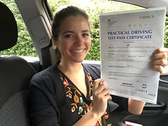 Massive congratulations  to Emiliana passing her test with only 3 minor faults!   www.leosdrivingschool.com