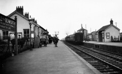devon - halwill junction station southern rly (johnmightycat1) Tags: railway lswr southern station devon