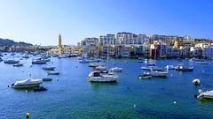 Sonntags in Marsaskala (ingejahn) Tags: marsaskala bucht malta schiffe sommer sonntag
