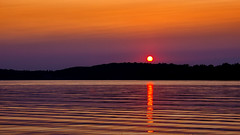 I think I should call this one 'Sunset' (Bob's Digital Eye) Tags: aug2018 bobsdigitaleye canon canonefs1855mmf3556isll flicker flickr laquintaessenza lake lakesunset outdoor reflection silhouette smokepollution sun sunset sunsetsoverwater t3i water sky