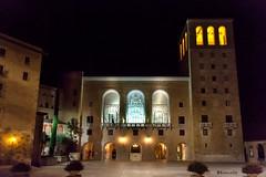Montserrat-Nocturna (rossendgricasas) Tags: montserrat monestirdemontserrat nocturna night light church noperson photo image color colorimage photoshop nikon tamron