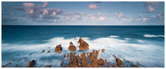 Crooklets Beach, Bude, Cornwall(#7) (S.R.Murphy) Tags: august2018 bude cornwall england greatbritain unitedkingdom coast sea seascape longexposure panoramic panorama lightroomcc sky clouds water ocean waves fujifilmxt2 fujifilmxf1855mm leefilters lee06ndgrad flickrexplore28082018 10stopndfilter 10stopfilter crookletsbeach