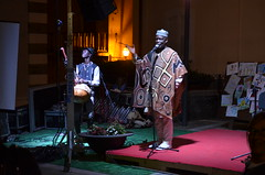 Senegalese artist (Fraufraua) Tags: acquaformosa firmoza arbreshe cosenza calabria italy italia sud south cantante artist singing concert senegal senegalese africa migrazioni festival popolo