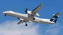 De Havilland Canada DHC-8-402Q C-FUWE WestJet Encore (William Musculus) Tags: vancouver international airport spotting yvr cyvr richmond britishcolumbia canada ca cfuwe westjet encore de havilland dhc8402q dash 8 bombardier dhc8400 q400 dhc8q400 wja ws wr wen william musculus