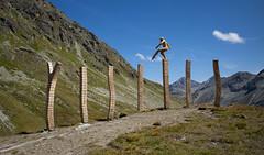 """sculpture """"Lebenswege"""" @Chamanna Jenatsch CAS (Toni_V) Tags: m2409007 rangefinder digitalrangefinder messsucher leicam leica mp typ240 type240 28mm elmaritm12828asph hiking wanderung randonnée escursione valbever chamannajenatschsac sculpture skulptur jenatschhütte martinakreitmeier lebenswege alps alpen graubünden grisons grischun switzerland schweiz suisse svizzera svizra europe 2018 180829 ©toniv holzskulptur eiche"""