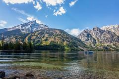 Grand Teton (KPortin) Tags: grandtetonnationalpark jennylake lake boat mountains wyoming