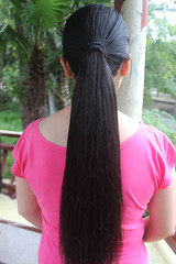 c4feb061489eb58513fe58cb9a2dab22 (韩老板收购长头发) Tags: longhair haircut hairshow hairplay braid ponytail hairbun hairjob