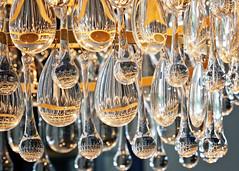 Glass (Jenny Onsager) Tags: glass chandelier macro macromondays light bokeh lighting dangling pretty girlie