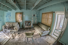 No TV Until You Clean Your Room (Tom Kilroy) Tags: abeytas newmexico abandoned indoors dirty old domesticroom broken damaged nopeople window ruined rundown obsolete empty architecture oldfashioned homeinterior messy spooky unhygienic absence
