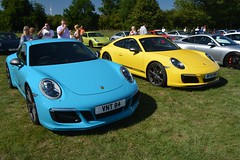 Porsche 911 Carrera T (CA Photography2012) Tags: vnt84 mf18dwn porsche 911 carrera t coupe miami blue speed yellow touring sportscar gt grand tourer sports car german legend ca photography automoitve exotic spotting owners club lotherton hall 2018