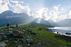 Nandkol Lake ([sujith]) Tags: kashmir trek glk kgl yhai meadow lake mountain india incredible