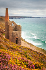 Wheal Coates (Rich Walker75) Tags: cornwall seaside seascape seascapes landscape landscapes landscapephotography landmark landmarks nationaltrust historic history uk england canon efs1585mmisusm eos80d eos outdoor mine heather sea ocean waves coast coastline coastal