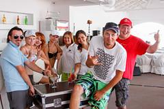 KRYC CUP 2014-4383 (amprophoto) Tags: sail sailing sailingyacht sailboat yachtrace regatta water wind white blue beneteau platu25 peoples sky sport spinnaker fun smile