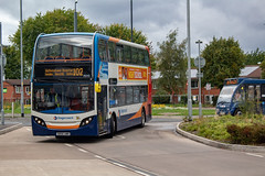 Stagecoach SN56AWR (Mike McNiven) Tags: stagecoach manchester merseyside preston glinmoss wythenshawe hospital interchange sharston piccadilly piccadillygardens alexanderdennis enviro400 e400