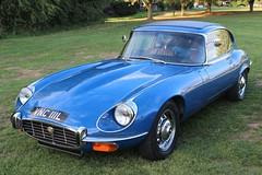 Jaguar E Type (R.K.C. Photography) Tags: jaguar etype classic british sportscar car 1972 vnc111l iconic blue barrington england cambridgeshire unitedkingdom uk canoneos100d