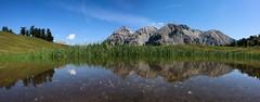Lac des Thures (Sophie et Fred) Tags: lake mountain lac montagne thures col pass alps alpes paysage landscape panorama mirror miroir reflection reflet