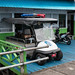 Agats police buggy