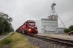 We're Not in Indiana Anymore (Jake Branson) Tags: train railroad locomotive emd gp382 decatur eastern illinois il shortline paris indiana inrd gp38ac 3801 drei