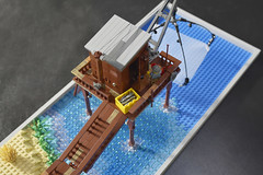 Lego Fishing Platform Project - atana studio (Anthony SÉJOURNÉ) Tags: lego fishing platform project afol moc creator atana studio anthony séjourné legoideas