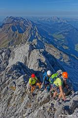 Les arêtes de la pointe percée (Goodson73) Tags: didier bonfils goodson73 pointe percee cheminees sallanches rando escalade aravis montagne