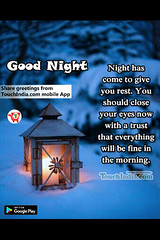 Good night (Touchindia.com) Tags: touchindia greetings wishes greetingwishes touchindiagreetings black blue nyc people day new multicolour colours colors red flower nature white green yellow pink orange quotes life love happy smile goodnight sky sunlight bright outside naturaleza sunshine natur air contrast light moon clouds trees girl city snow