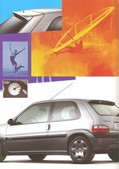 5 (ErenXsara) Tags: citroën saxo new morning citroënsaxo saxonewmorning saxo16i saxo14i saxo16i16v catalogue catalog catálogo brochure car coche voiture depliant