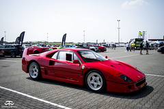 Ferrari F40 (TimelessWorks) Tags: time less works timeless timelessworks tw photo foto photograph photography pic picture image shot shoot photoshoot car auto bil vehicle automobile automotive super supercar supercars sunday sunny outside outdoors outdoor sunshine summer beautiful rare exotic vintage old classic new brand ferrari lamborghini porsche pagani mclaren tt circuit assen bmw mercedes bentley rolls royce luxury rich sport sports sportscar sporty rwd awd event meet carmeet show showoff off clouds cloudy vredestein weekend netherlands