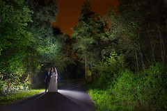 IMG_4105a (matek 21) Tags: lightpainting light liht lightart lighpainting licht lightjunkies wood woods woman night newlyweds trees wedding couple canon varta vartabatteries vartaflashlight strobe mateuszkrol mateuszkról malowanieświatłem longexposure longoexposure