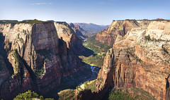 Zion Observation point (Valley Imagery) Tags: zion national park panorama icon utah usa america canyon landscape summer colour stitched