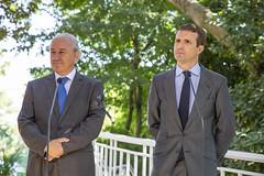 Rui Rio com Pablo Casado