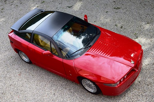 Alfa Romeo SZ 'Il Mostro' in brand new showroom condition.