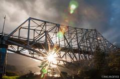 BotG III (Nick Kanta) Tags: bridge bridgeofthegods clouds color d90 flare nikon oregon outdoorphotography sky sunlight tamron1750