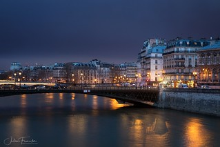 Pont d'Arcole, Île de la Cité & Île Saint-Louis, Paris