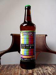 Test Pattern Rice IPA (knightbefore_99) Tags: bottle beer cerveza pivo ale camra bc phillips victoria best tasty hops malt cool rice ipa india pale test pattern