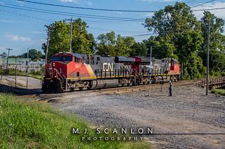CN 2820 | GE ES44AC | CN Shelby Subdivision