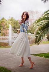 Maneiras bonitos de usar uma saia Midi (meumoda) Tags: bonitos maneiras