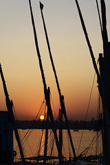 Sunset on Nile (www.holgersbilderwelt.de) Tags: nature beautiful light sky water travel landscape street beauty beach color art urban winter pretty outdoor africa shadow amazing weather desert scenic silhouette lovely historic season culture calm countryside traditional public egypt perspective arabian waterscape arabic aperture valley