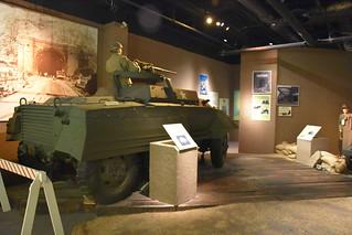 M-20 Armored Utility Vehicle - John B Mahaffey Museum Complex