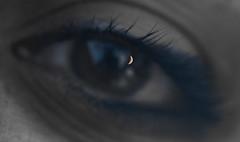 looking at the moon (max832) Tags: 2018 olympus viola em10iii omd purple occhi italy micro43 60mm28macro doubleexposure estate barca blue coloreselettivo mft bluehour doppiaesposizione blackwhite blu eyes eyesocchio sooc moon luna italia