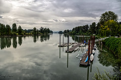 Bedford Channel - Fort Langley (SonjaPetersonPh♡tography) Tags: langley fortlangley townshipoflangley bc britishcolumbia canada town tourists shops gallery restaurants quaint village antiques gloverrd fraserriver parks bedfordchannel kayaks channel river riverfront
