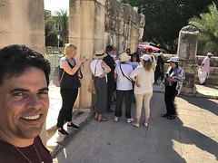 The Love of a Master Tour Jerusalem 2018 Celebrating John-Roger's 84th Birthday (Tour El Amor de un Maestro, en Israel) by Jesus Garcia Ministries visiting Capernaum and Mt. Beatitudes (jrintegrity924) Tags: johnroger msia jsu garcia integrity spiritual teacher israel jerusalem love light spirit god jesus