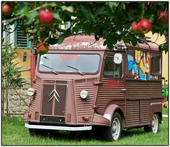 Citroen HY and the Apple tree (hromadkah) Tags: citroen hy 20jahrewoidantnstiefern