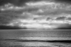 Atlantic Ocean (Infrakrasnyy) Tags: sony nex 5n alpha full spectrum ir infrared bw 093 black white monochrome colorless strandhill sligo ireland beach atlantic ocean surf rocks clouds gloom