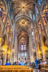 inside Notre Dame (sumnerbuck) Tags: paris notredame france