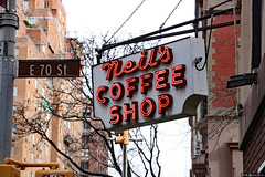 Neil's Coffee Shop (Can Pac Swire (away for a bit)) Tags: lexingtonavenue 961 newyork city usa us america american unitedstates manhattan uppereastside 2018aimg7655 neon sign neilscoffee shop east e 70th street