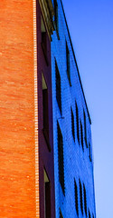 BRYAN_20180702_IMG_8714 (stephenbryan825) Tags: hanoverstreet liverpool merseyside abstracts architecture blue bricks buildings contrast details graphic orange selects shadows vivid windows