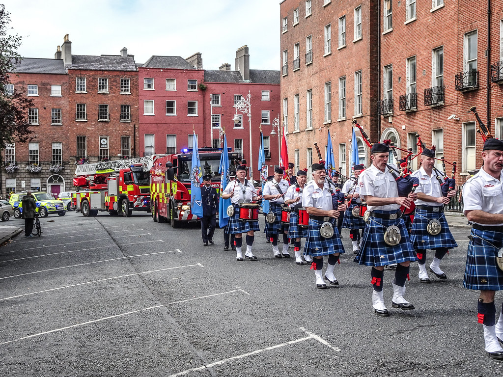 NATIONAL SERVICES DAY [PARADE STARTED OFF FROM NORTH PARNELL SQUARE]-143590