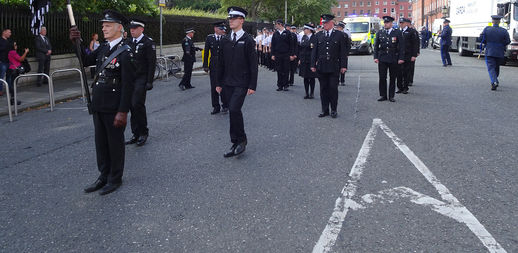 NATIONAL SERVICES DAY [PARADE STARTED OFF FROM NORTH PARNELL SQUARE]-143621